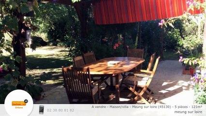 A vendre - Maison/villa - Meung sur loire (45130) - 5 pièces - 121m²