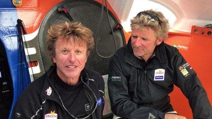 4 mai 2017. Réactions de JP et Yann suite à la première journée sur le Grand Prix Guayder
