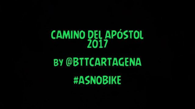 Camino del Apóstol 2017 by @BTTCARTAGENA #ASNOBIKE