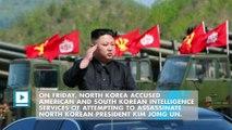North Korea says America and South Korea tried to assassinate Kim Jong Un