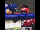emiliano vargas (fernando vargas son) got sick boxing skills!!! esnews boxing