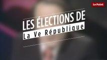 Comment ont été annoncés les résultats des élections de la Ve République