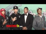 The Rangers & Nick Cannon at 2011 TeenNick HALO Awards Arrivals