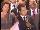 Nicolas Sarkozy à la Concorde le 6 Mai 2007