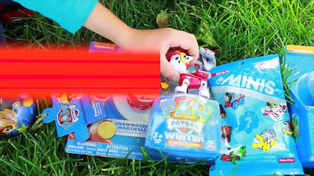 Paw Patrol McDonald's FIRE + GIANT PLAY HOUSE Fire Truck Little Tikes Waffle Blocks Episodes