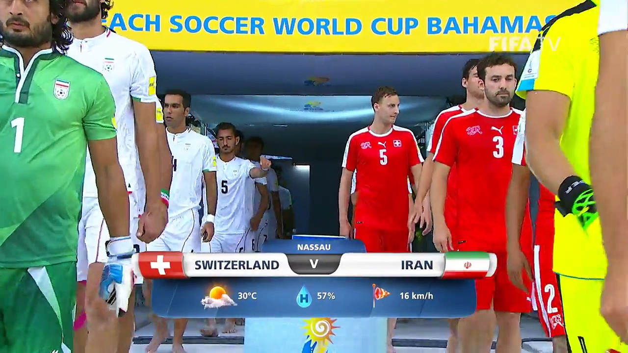 Switzerland v Iran – FIFA Beach Soccer World Cup 2017