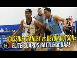 Cassius Stanley vs Devon Dotson! Elite Guard Matchup at UAA!
