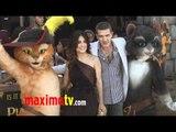 PUSS IN BOOTS Los Angeles Premiere With Salma Hayek & Antonio Banderas
