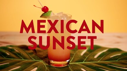 Mexican Sunset Drink Recipe