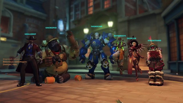 Overwatch: When the enemy team forgets what time it is.