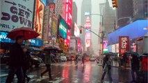 Heavy Rain, Wind Hits New York, Closes Major Roads