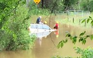 Driver Rescued From Flooded Road Near Charlottesville