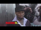 Curtis Jackson 50 Cent at REAL STEEL Los Angeles Premiere Arrivals