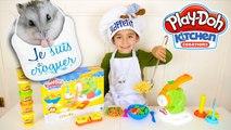 JEU - LA FABRIQUE À PÂTES - Des spaghetti pour Nuts  - Pâte à modeler Play Doh Kitchen Creations