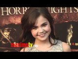Bailee Madison at 2011 Eyegore Awards Arrivals - Halloween Horror Nights