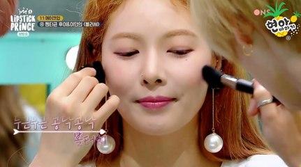 [ENG] Hyuna + Pentagon (Hui & E'Dawn) @ 170504 Lipstick Prince Season 2 Ep 6 [2/2]