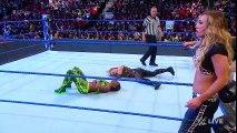 Naomi & Charlotte Flair vs. Natalya & Carmella SmackDown , Wrestling - Women Wrestling
