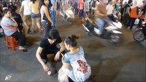 ホスト!ベトナム 旅行1日目,ホーチミンで夜遊び,可愛い女の子,ベンタイン市場,ナイトマーケット