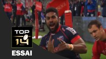 TOP 14 ‐ Essai d'Edward SAWAILAU 2 (FCG) – Grenoble-Lyon – J26 – Saison 2016/2017