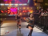 WWE Trish Stratus and Candice Michelle vs Mickie James and Victoria show