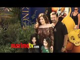 "Maria Canals-Barrera and Family at ""The Lion King"" 3D Premiere"