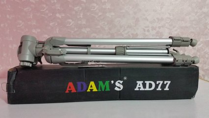 ADAMS Tripod Unboxing And First Look By Arshad