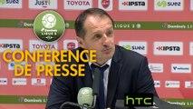 Conférence de presse Valenciennes FC - Red Star  FC (0-0) : Faruk HADZIBEGIC (VAFC) - Claude ROBIN (RED) - 2016/2017