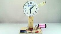 Electromagnetic PENDULUM _ Simple Electric MOTOR _ Electromagnetic Experiments-WfWi8