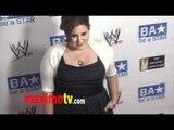 Kaycee Stroh at WWE SummerSlam 2011 LA Event