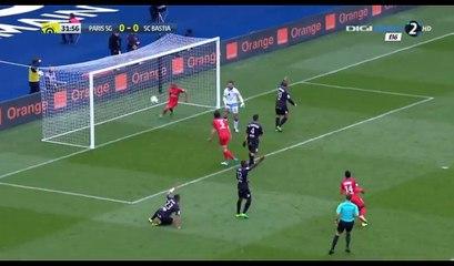 Lucas Goal HD - PSG 1-0 Bastia - 06.05.2017