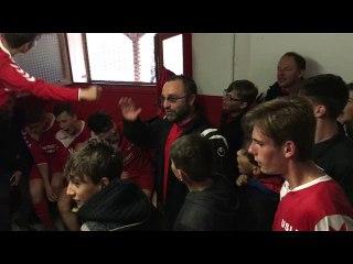 Le Clapping des U18 Victoire contre Villerupt 3-2