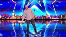 Simon Cowell comes face-to-face with Simon Cowell - Auditions Week 2 - Britain's Got Talent 2017 - YouTube
