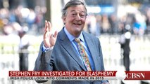 Stephen Fry investigated for blasphemy