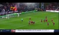 Yannis Salibur 2nd Penalty Goal HD - Guingamp 3-0 Dijon 06.05.2017