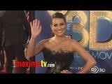 "Lea Michele Attends ""GLEE THE 3D CONCERT MOVIE"" Premiere"