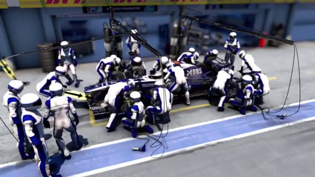 Formula One Pit Stops