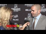 Ian Laperriere Interview at 2011 NHL Awards Red Carpet Arrivals