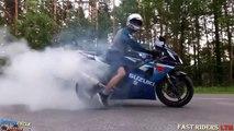 BIKERS Compilation 2017 ► Burnouts, Wheelies, Stoppies, Beautiful Exhaust Sound
