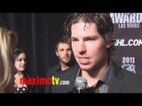 Logan Couture Interview at 2011 NHL Awards Red Carpet Arrivals
