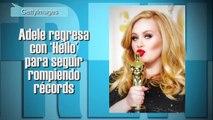 Adele Regresa con Hello para seguir rompiendo records trending