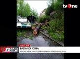 Banjir Bandang, Angin Kencang dan Badai Pasir di Cina