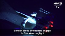 Star Wars drones dogfight in Lon