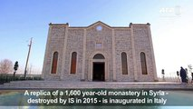 Replica of Syrian church razed y IS opens in Italy[1]
