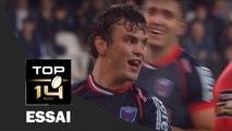 TOP 14 ‐ Essai de Lilian SASERAS (FCG) – Grenoble-Lyon – J26 – Saison 2016/2017