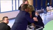 Présidentielle : Marine Le Pen a voté à Hénin-Beaumont