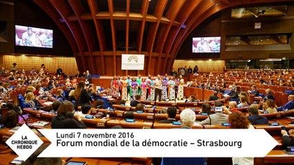 Du forum mondial de la démocratie à l'hommage aux personnels de l'Education nationale - Chronique Hebdo N°99