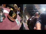 seckbach shows boxing champ deontay wilder how to watch 360° video on phone EsNews Boxing