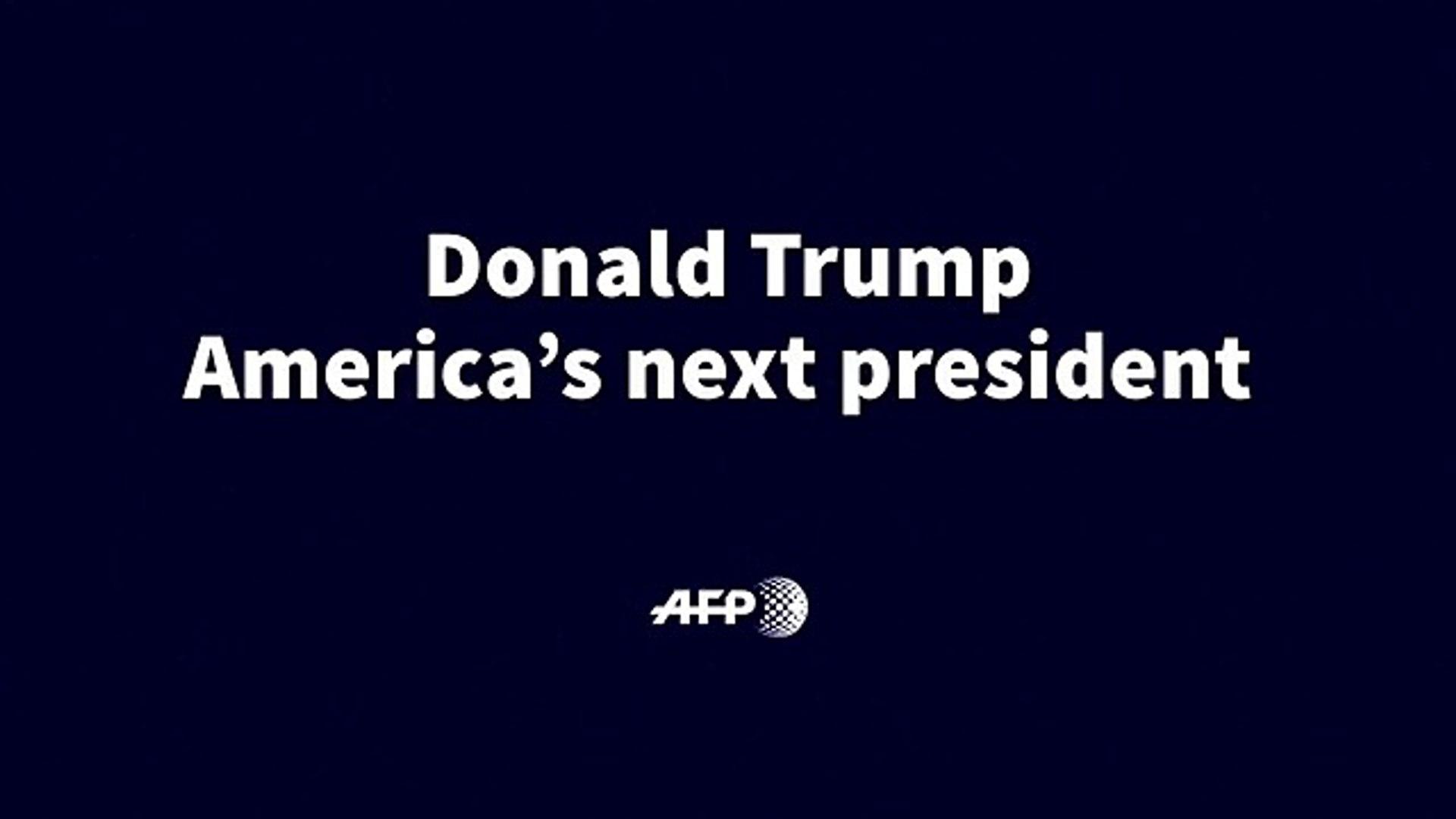 Donald Trump, America's ne