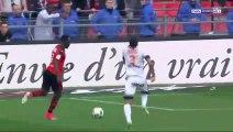 1-0 Firmin Ndombe  Mubele Goal - Stade Rennais 1-0 Montpellier HSC - 07.05.2017