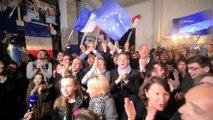 Présidentielle : ambiance au QG lyonnais d'En Marche! à 20 heures